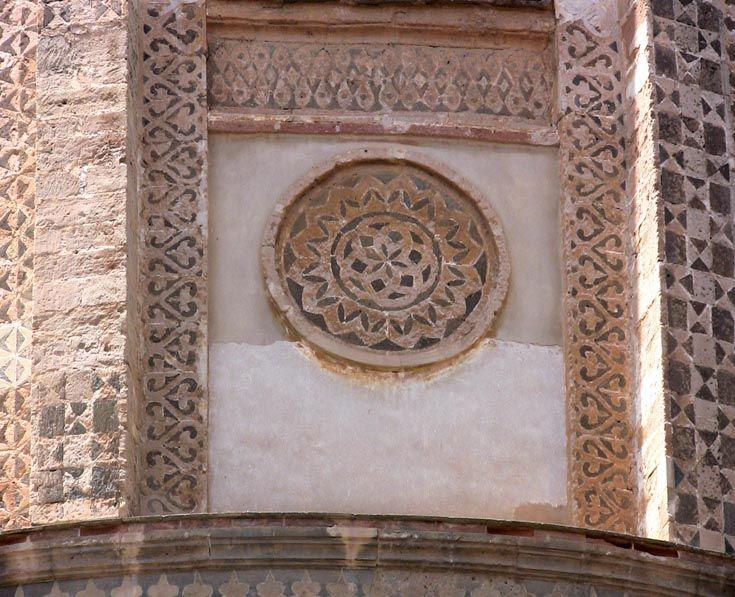 Декор апсиды Собора в Монреале, Сицилия