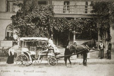 Извозчик   Старая Ялта   Архив старых фотографий (с ...  извозчик