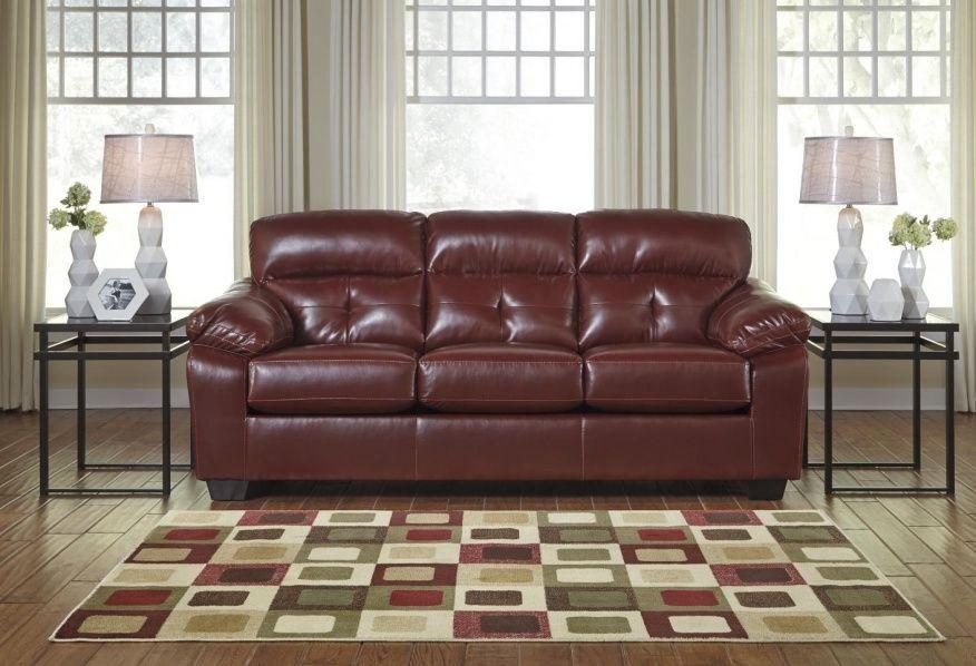 Benchcraft Leather Sofa