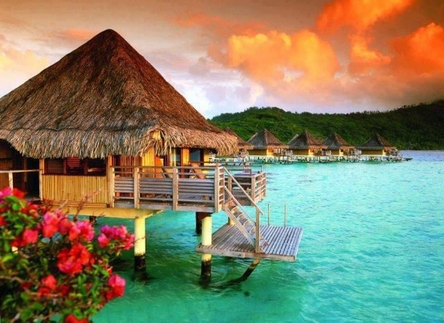 Le Moana Resort - Bora Bora what a vacation this would be!