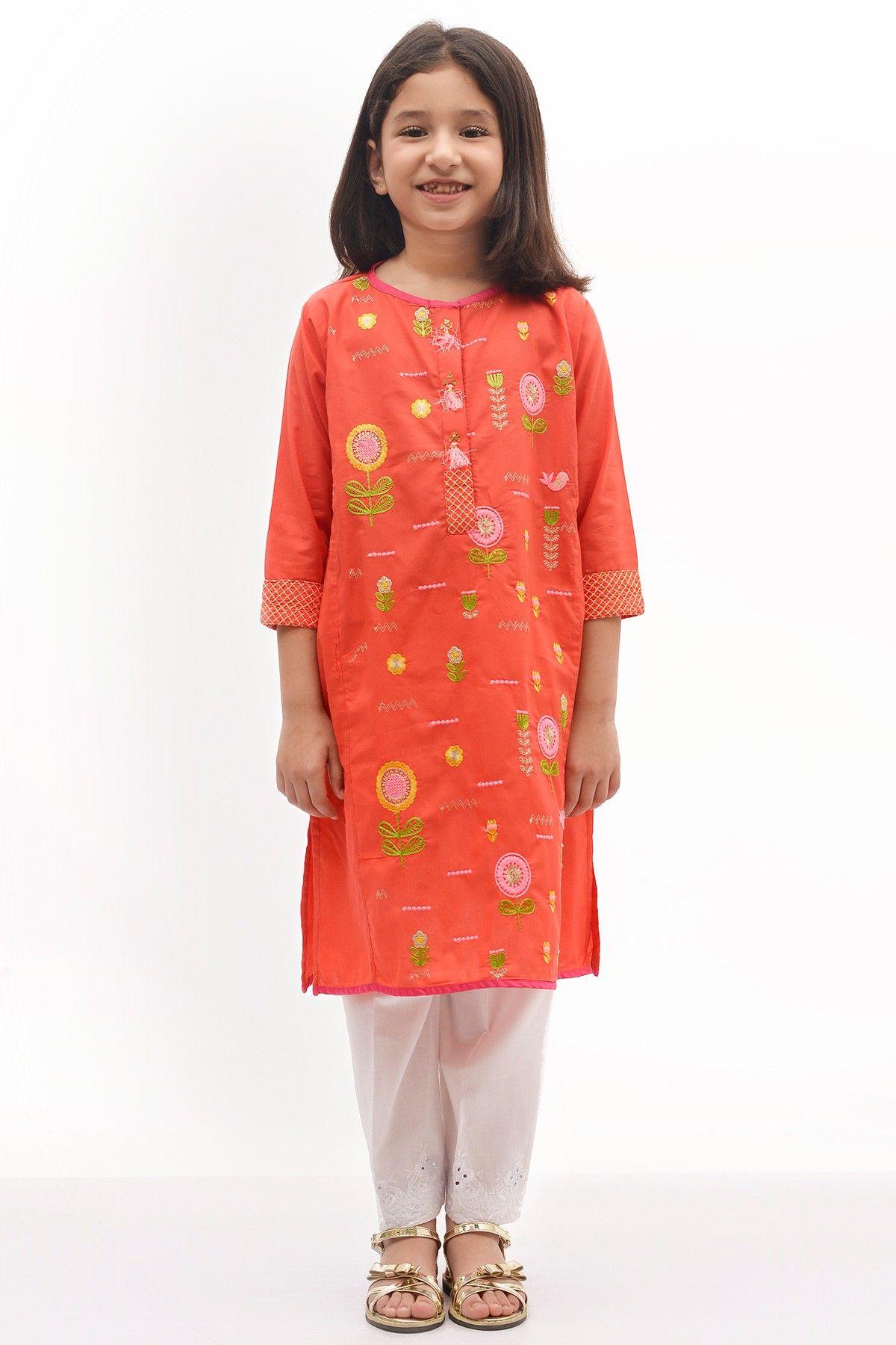 Khaadi Baby Girls Dresses For Summer 2017