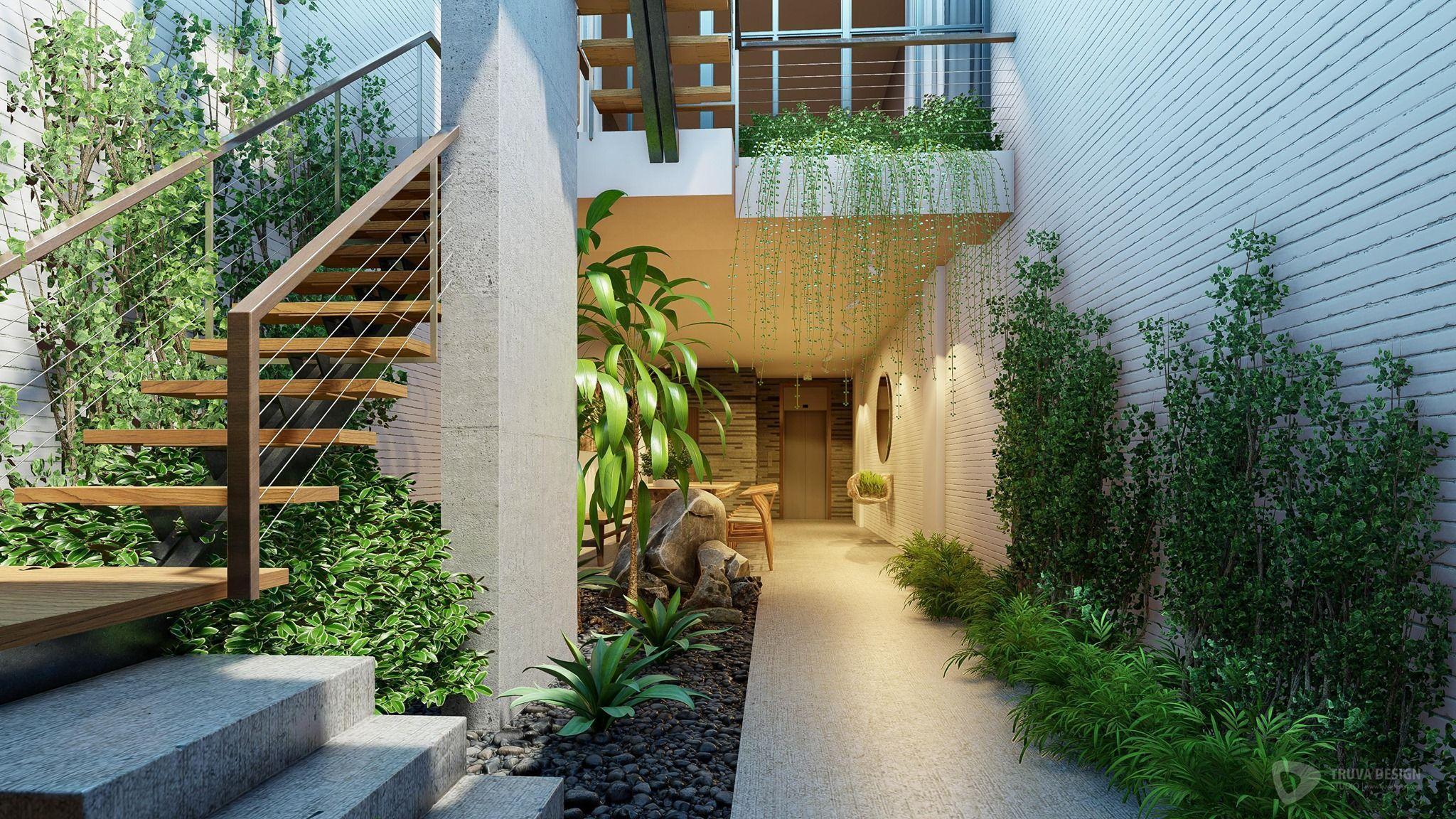 Interior And Garden Rendered In Lumion 10 By Truva Design Design Exterior Interior