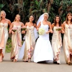 Wedding Dress This Champagne Dusty Pink