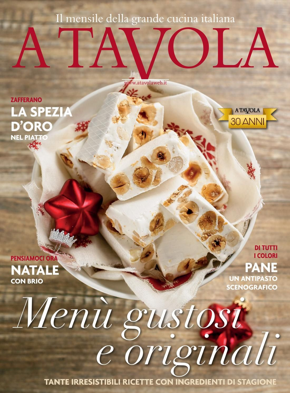 A Tavola Dic2017 Ottimo Gastronomia Italiana