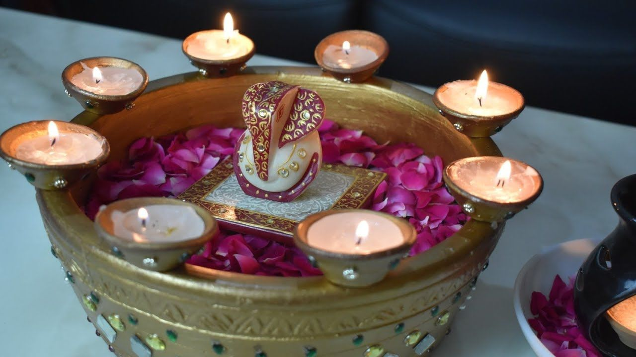Diwali Dekoration Ideen | DIY Diya Dekoration Ideen für Diwali | Neueste Diwali Home Decorati...