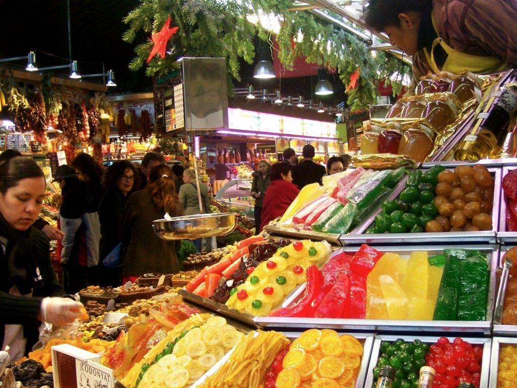 La boqueria market barcelona spain from anne lowrey