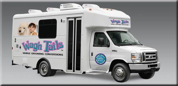 Wag N Tails Elite Mobile Groominng Bus Mobile Pet Grooming Pet