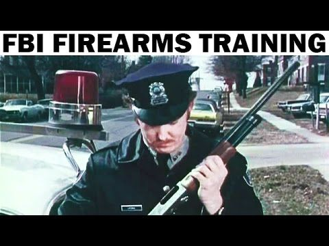 FBI Training Film | Shooting for Survival | 1960s | Defensive Firearms T...