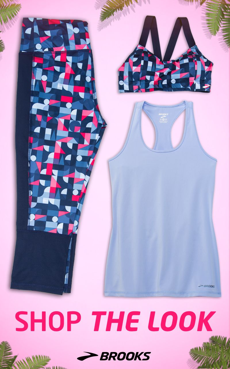 simplify your wardrobe stock up on easy to match running tops and