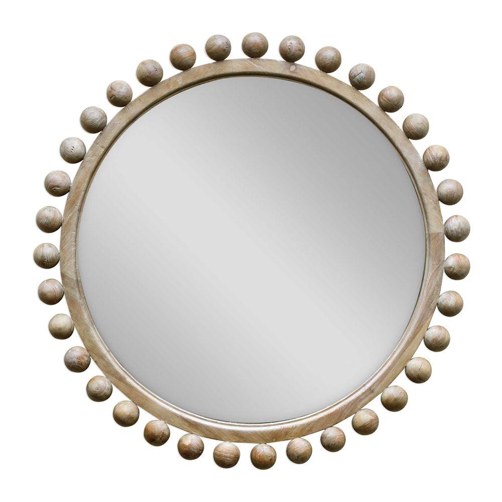 Revelation By Uttermost Brianza Mahogany Frame Mirror Round Wood Mirror Wood Mirror Wood Framed Mirror