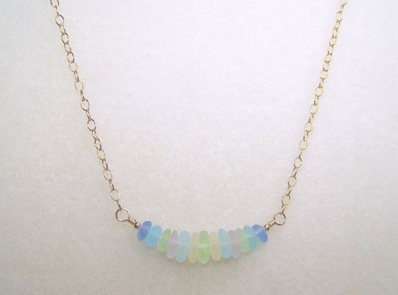 Hey, I found this really awesome Etsy listing at https://www.etsy.com/listing/207173152/sea-glass-necklace-18-inch-necklace