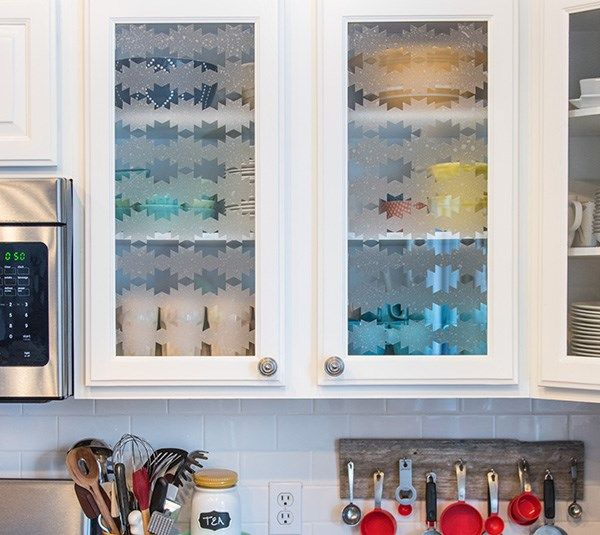 Glass Cabinet Window Cling Create An Awesome And Removable - How to make window decals with cricut