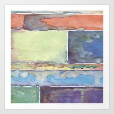 Watercolor Study Art Print by Adora Horton - $15.60