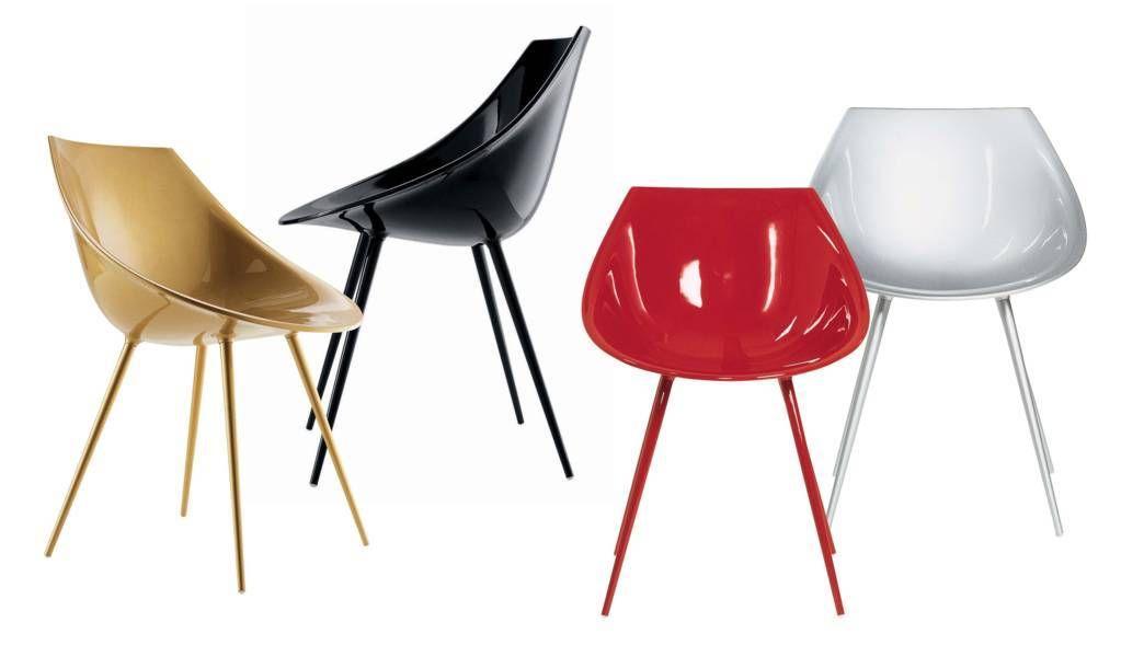 Driade lagò chair by philippe starck chaise