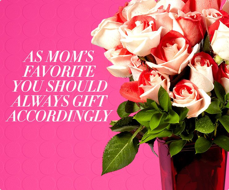 As mom's favorite you should always gift accordingly.