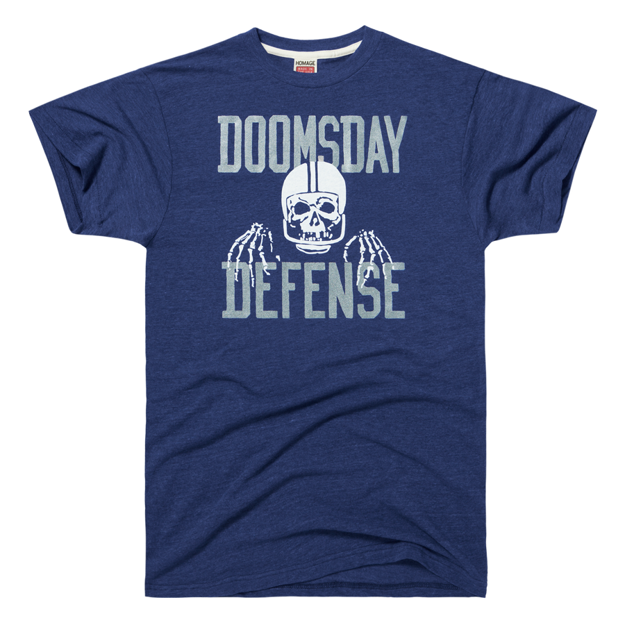huge discount 61cec b53b9 HOMAGE Dallas Cowboys Doomsday Defense NFL Defense T-Shirt ...