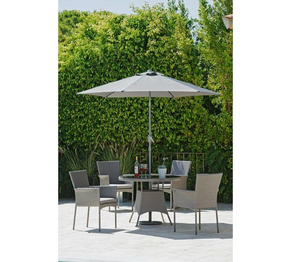 Buy Collection Havana Rattan Effect 4 Seater Set at Argos.co.uk ...