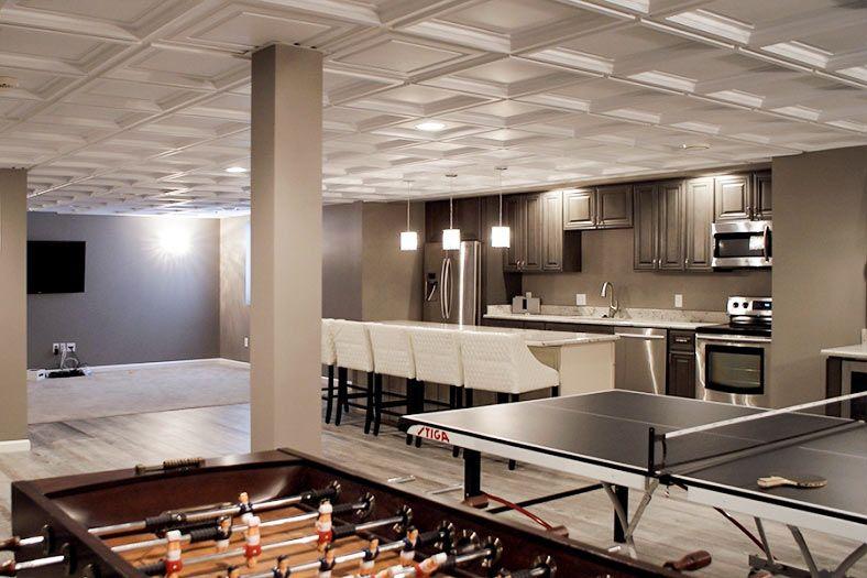 Decorative Ceiling Tiles Basement Ceiling Proceilingtiles Easy Basement Ceiling Ceiling Tiles Ceiling Tiles Basement