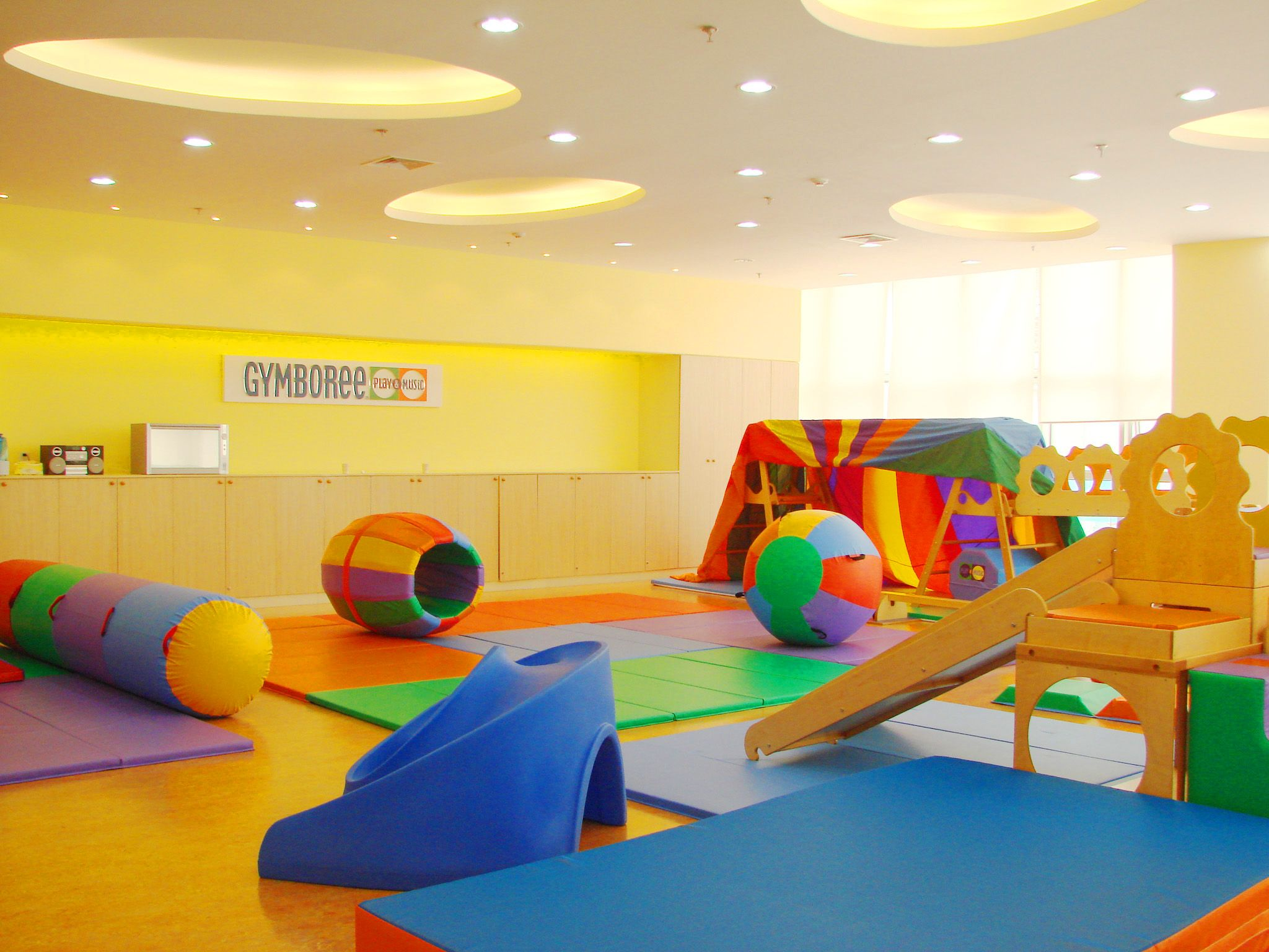 Gymboree sensory gym autism speaks pinterest