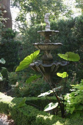Charleston Garden with fountain