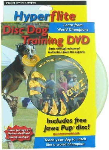 Hyperflite Jawz Pup Dog Disc And Training Dvd By Hyperflite