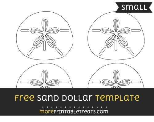 Free sand dollar template small ocean theme free printables free sand dollar template small maxwellsz