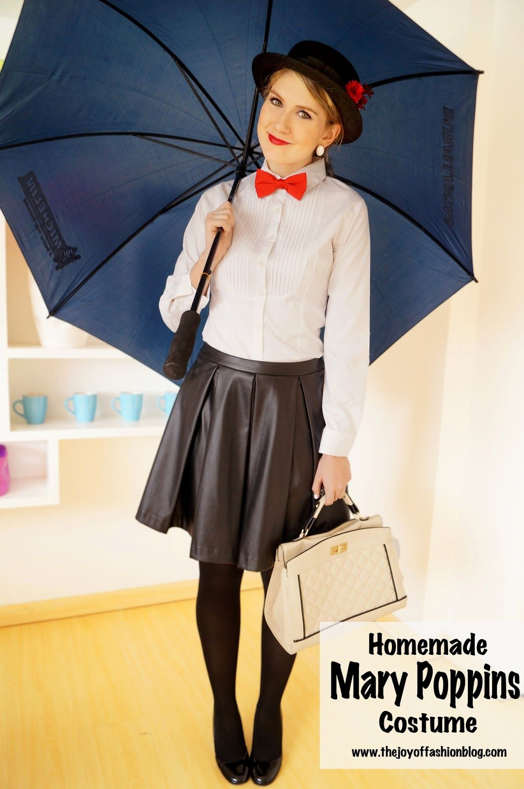 homemade mary poppins costume crafts diy pinterest mary poppins homemade and costumes. Black Bedroom Furniture Sets. Home Design Ideas