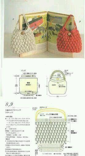 Patrones Crochet, Manualidades y Reciclado: CARTERAS TEJIDAS A ...