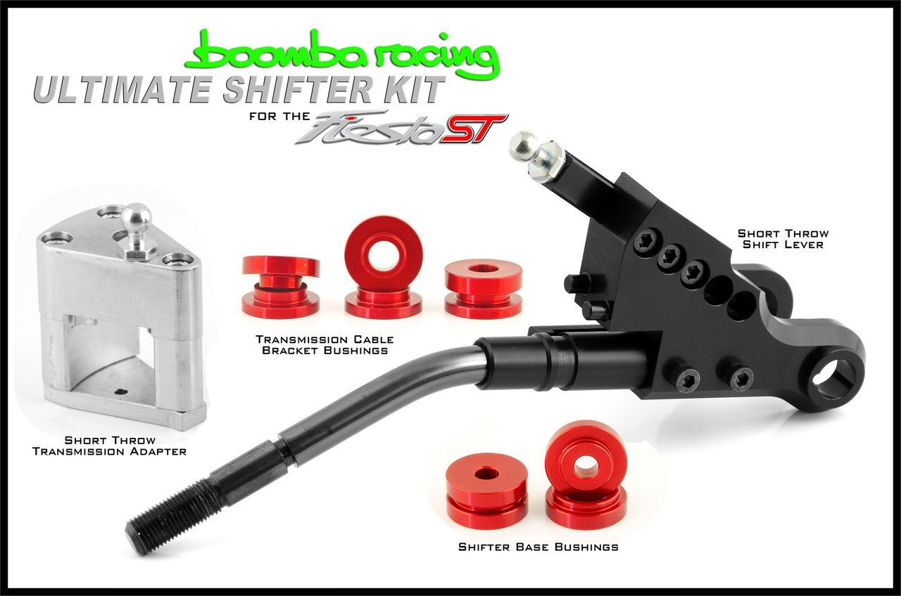 Boomba Racing Fiesta St Ultimate Shift Package Fiesta St Shift Autocross