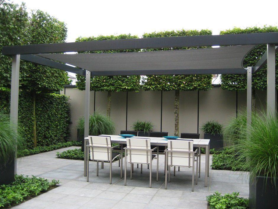 Moderne strakke design tuin in Houten   Van Jaarsveld Tuinen   tuin   Pinterest   Gardens and