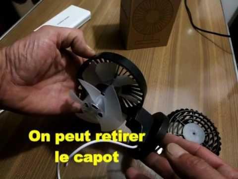 B01hxpxxia agapo ventilateur usb ventilateur de bureau double moteur