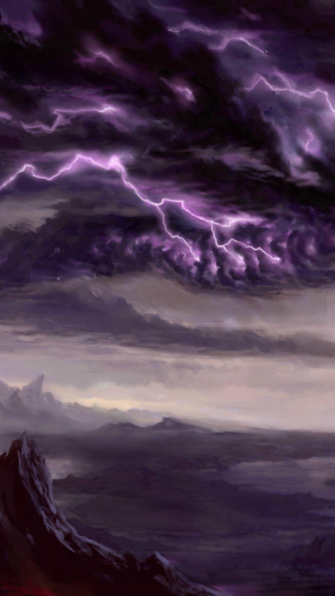 Lightning Dragon Wallpaper Android imagens)