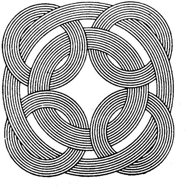 Geometric Shapes Cartoon Coloring Page   Geometric ...