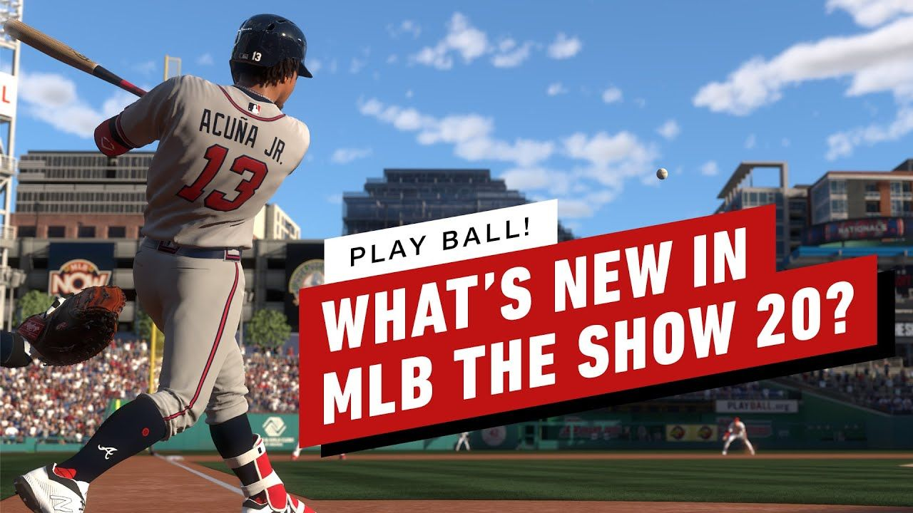 What S New In Mlb The Show 20 In 2020 Mlb The Show Whats New Mlb
