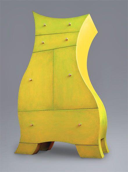 Berthe Whimsical Dresser By Alain Belanger Weird Furniture Funky Furniture Funny Furniture
