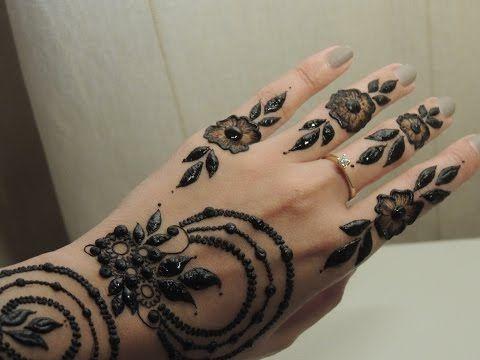 Khaleeji henna 4 - YouTube