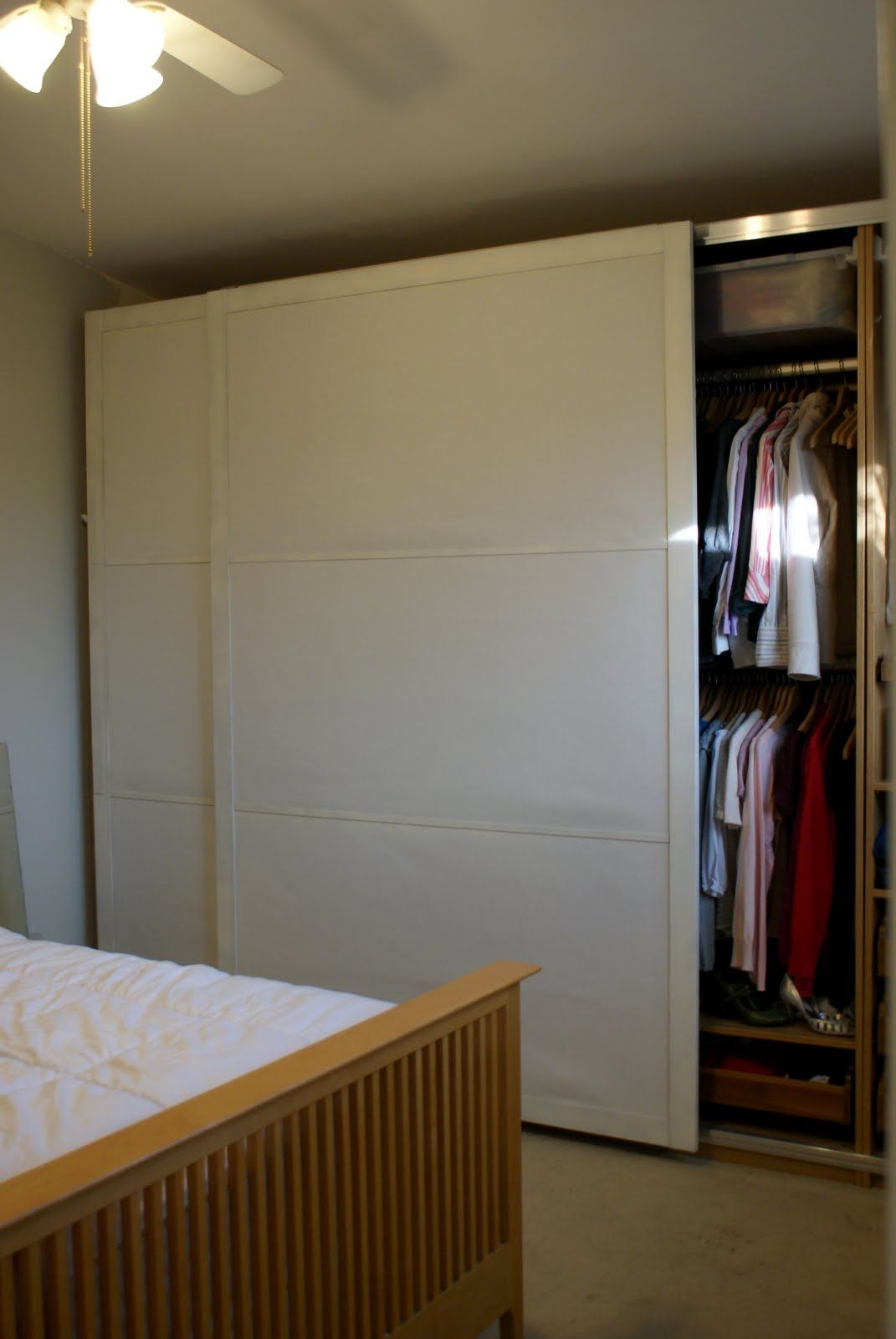 Thin Closet Doors Sliding Httpsourceabl Pinterest