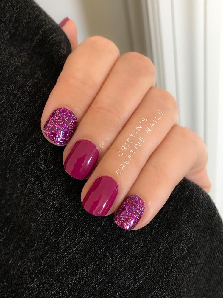 Pin by Casey F on Nails, Nails, Nails Purple nails