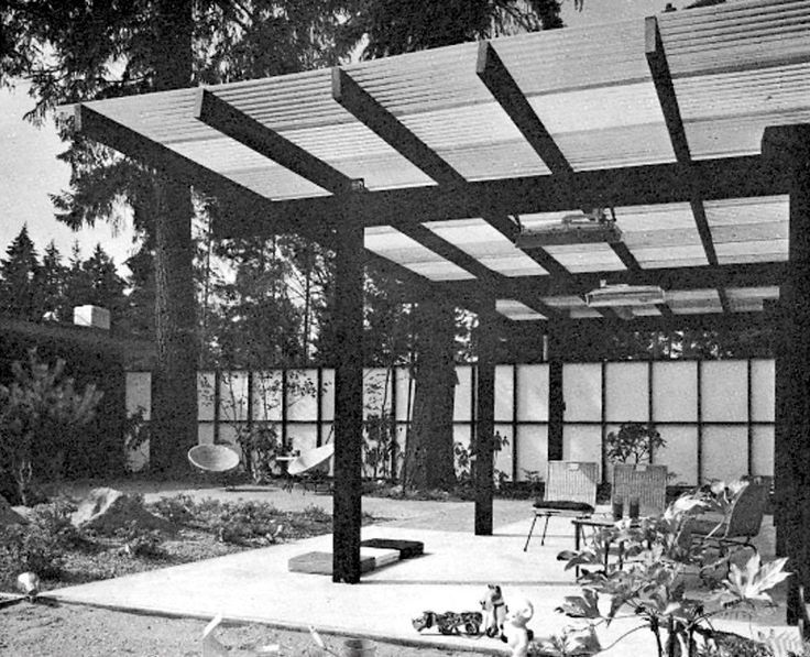 1964 The Best Way To Construct Patio Roofs Nice Mid Century Trendy Eames  Period Design Concepts
