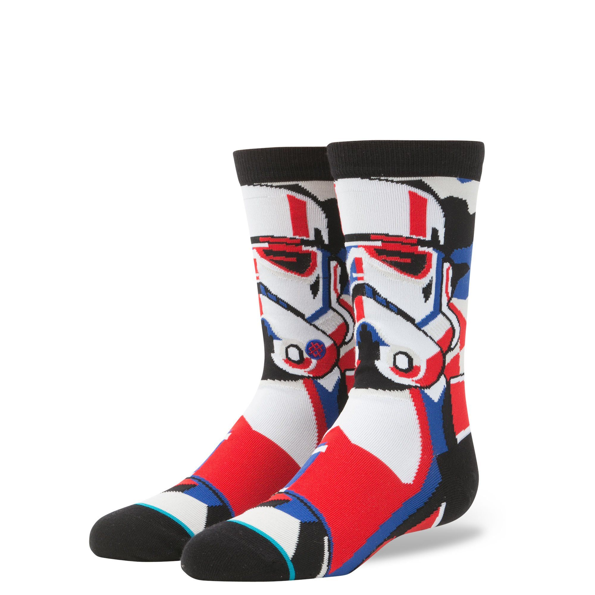 c0258a21a7 Stance B515D17TRO Boys Trooper Mosaic Socks Black L 25.5     Want to know  more