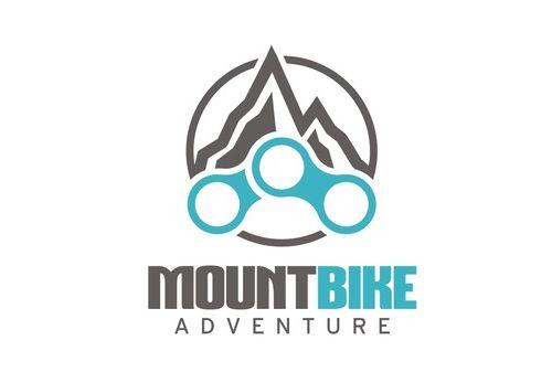 Mountain Bike Logo Template | Logo Design | Bike logo, Bike design
