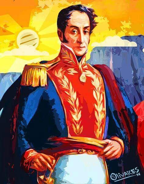 El Libertador Simon Bolivar Por Oscar Olivares Venezuela Mia