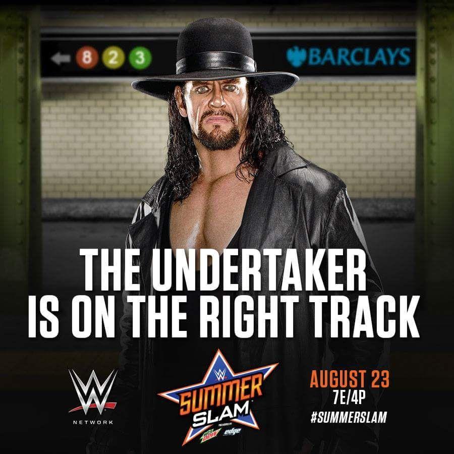#SUMMERSLAM   Undertaker, Wwe, Dead man walking