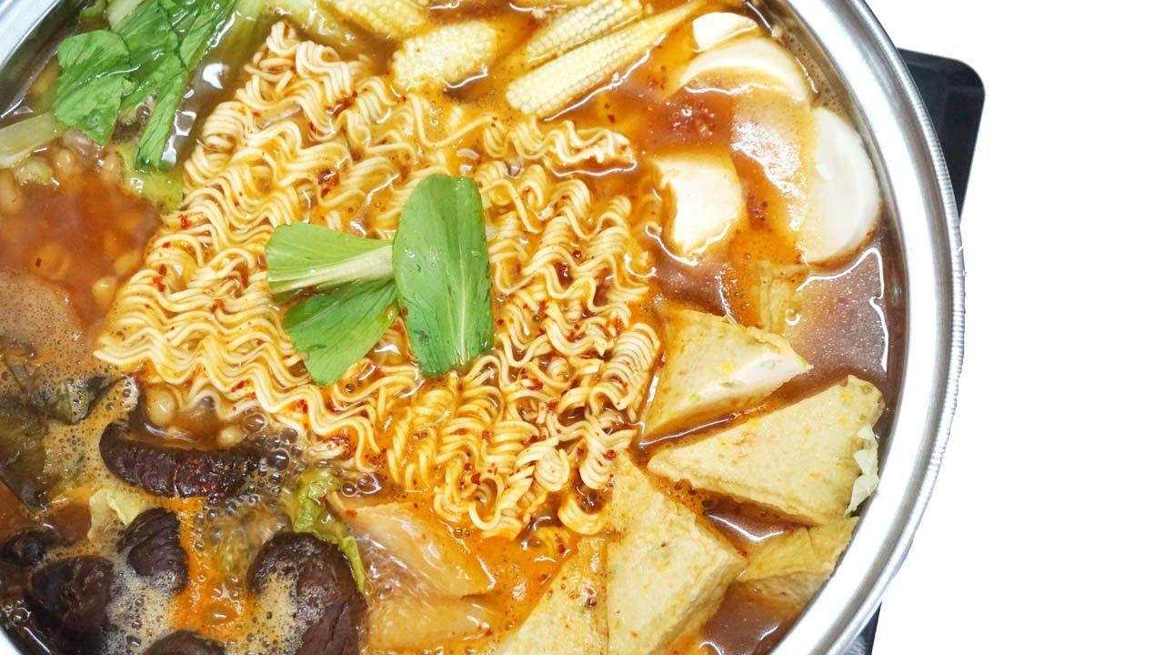Episode 5 Vegan Korean Army Stew 韓式素食部隊鍋 Vegan Budae Jjigae Vegetarian Recipes Army Stew Hot Pot Recipe