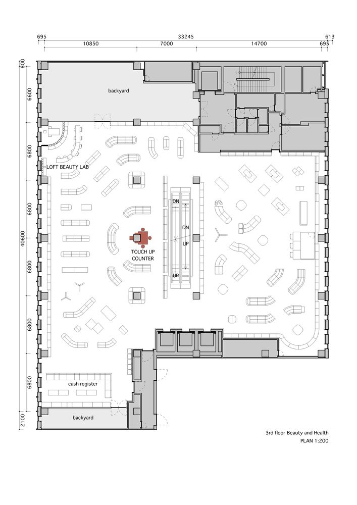 Gallery Of Ginza Loft Schemata Architects 16 Grocery Store Design Stationery Store Design Floor Plans