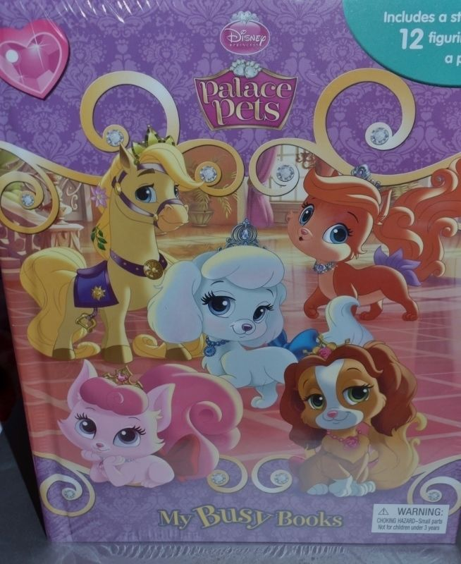 Disney Princess Palace Pets My Busy Books 12 Palace Pet Figurines Play Mat Book My Busy Books Palace Pets Playmat
