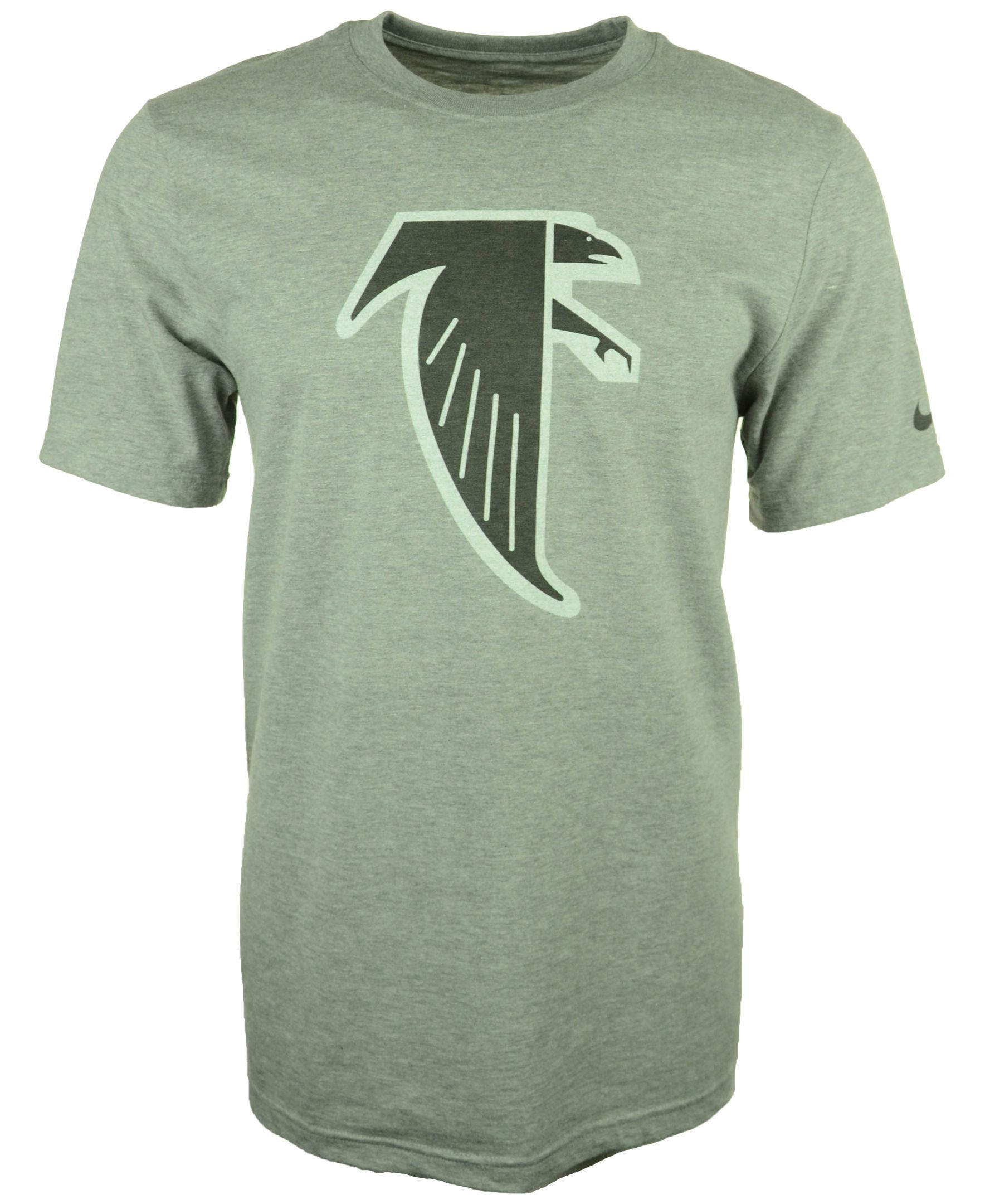 Nike Men S Atlanta Falcons Retro Logo T Shirt Nike Men Men Falcons Gear