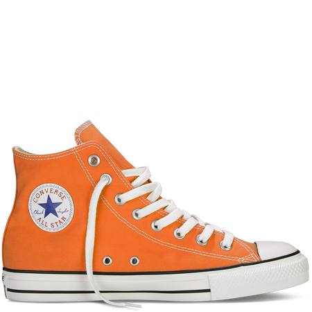 399de2a7ef245 Oh my! ORANGE CHUCKS!!!! Chuck Taylor Fresh Colors exuberance ...