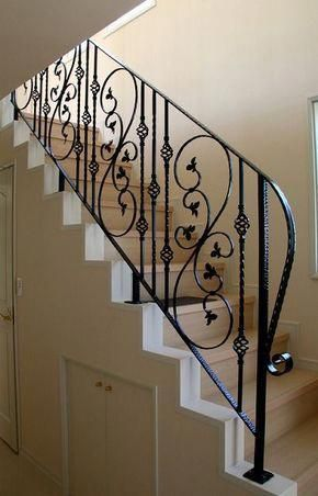 This Unique Staircase Decor Is Certainly An Extraordinary Style Alternative Staircasedec Wrought Iron Staircase Wrought Iron Stair Railing Iron Stair Railing