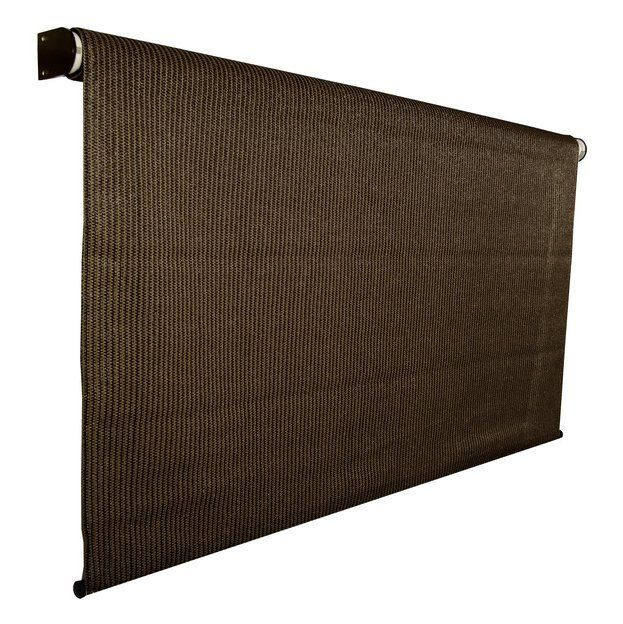 Shop Coolaroo Light Filtering Exterior Rolling Shade At Lowe S